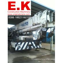 50ton Подержанный японский гидравлический передвижной автокран Kato (NK500E)