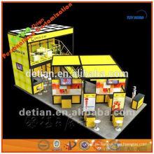 modularer doppelter Standstandstand-Ausstellungsstand, Stand für Messedesign, billiger Ausstellungsstand in Shanghai in Porzellan