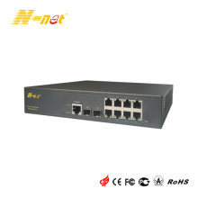 Gestionado Gigabit 8 Port PoE Switch de red