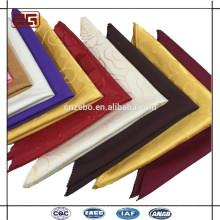 Guangzhou Manufacture Hot Selling Hotel Wedding Jacquard/,Embossed/ Damask 100% Polyester/Cotton