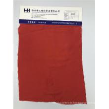 Woven  C/CU Plain Red Anti-static Fabric