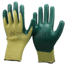 NMSAFETY HPPE cut resistant latex coated hand protective gloves