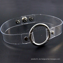 Gets.com pvc Kunststoff Messing Choker Halsband Halskette