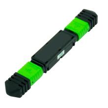 Atenuador de enchufe fijo de fibra óptica MPO