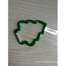Xmas Tree Aluminum Hook with Green Color