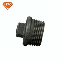 La taille noire ISO49 de garnitures de tuyau de fer malléable