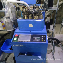 WH brand manufacturer price used 3.5'' plain socks knitting machine for sale