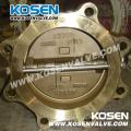 Lug Type Aluminum Bronze Wafer Check Valve