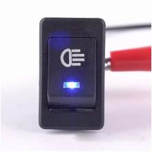 Blue Car 4 Pins DC12V LED Fog Toggle on /off Switch