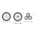 Cable aislador aéreo 10-35kv