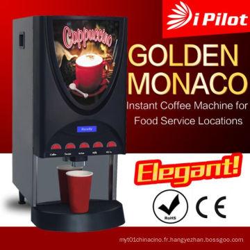Distributeur de boissons instantanées pour les emplacements des services alimentaires