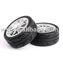 Neumáticos de goma OEM para escala RC/juguete 1/8 y 1/10 del moldeado