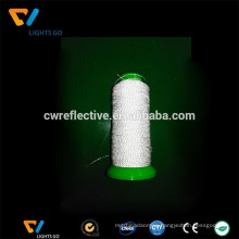 Eco-friendly silver grey high tension 3m machine reflective thread for embroidery