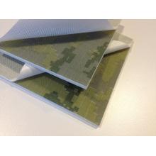 Textura Peel Ply camuflaje G10 para la manija del cuchillo de bolsillo