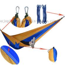 Rede quente da cama de acampamento do pára-quedas exterior de nylon da venda do OEM