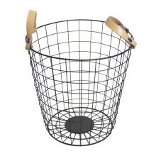 Роскошный дизайн металлической проволочной корзины