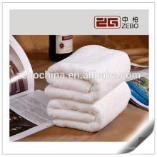 High Quality Wholesale 100% Cotton 5 Star Hotel Towel / White Bath Towel