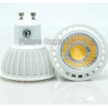 5W GU10 COB LED Lâmpada Plstic Shell