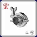 304 o 316 Abrazadera de manguera de acero inoxidable sanitaria para abrazaderas de tubo de aceite