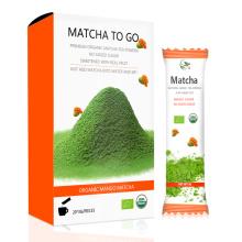 Grado alimenticio orgánico Matcha, OEM Matcha To Go Bolso pequeño