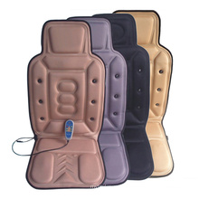 Electric Magnetic Vibration and Heating Back Car Seat Massage Cushion