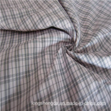 Woven Dobby Twill Plaid Plain Check Oxford Outdoor Jacquard 100% Polyester Fabric (X017)