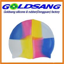 Durable Multicolor Silicone Swimming Caps