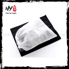 Fashionable hot-sale shoes shopping bags, non-woven dustproof shoe bag, drawstring pouch for traveling