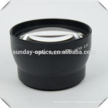 Lentilles photo télé-photo 58mm, VU62, 2.0X
