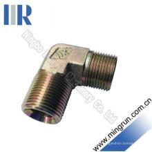 Cotovelo de 90 graus Bsp macho / NPT macho tubo de montagem (1BN9)