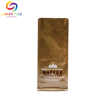 Reclosable Aluminium Coffee Packaging Com Válvula