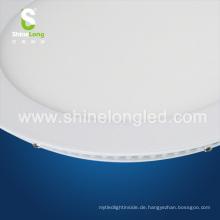 Ultradünne Super Slim 3W 6W 18W 25W rund LED Deckenplatte Licht