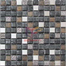 Archaized Mosaic Made by Glass and Metal (CFM945)