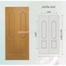 Mejor calidad MELAMINE PUERTA piel / 3.2mm melamina puerta piel