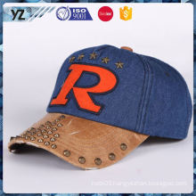 Factory sale long lasting nylon baseball cap for sale