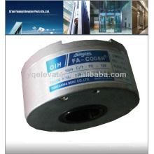 Codeur rotatif rotatif TS5208N130 codeur rotatif manuel, codeur optique rotatif