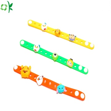 Promotional Gift Adjustable Cartoon silikon armband