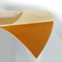 High quality flex polyflex red gold flock heat transfer vinyl textile flock for Clothes