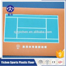 Fabricant Promotionnel Haute Qualité export wpc vinyle tennis flooring