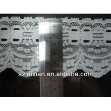 Bordado de moda de encaje de algodón
