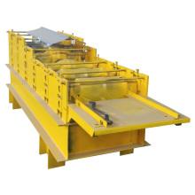 Machine de formage de rouleaux de panneaux de toit à haute efficacité