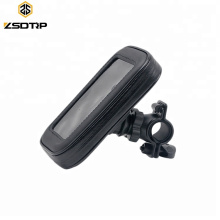 Universal Motorcycle Telephone Bag Holder With Waterproof Cover For ip X 8 Plus SE S9 GPS Bike Phone Holder Supporter