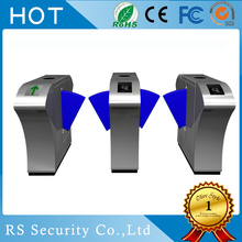 Dual Lane Flap Barrier Pedestrian Gates Turnstile