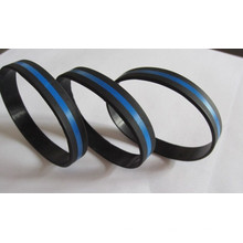 Popular Tricolors Layers Silicone Bracelet