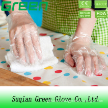 Plastic Disposable Chemical Resistant Gloves