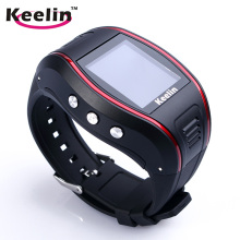 Hot Sales GSM GPRS Personal GPS Watch Tracker pour Elder