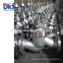 Animação de Tipo de Ângulo Din Pn16 Dn80 Cf8 Válvula Globo Sanitária Especificação Desenho de Válvula Globo