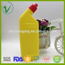HDPE washing detergent plastic bottles for liquids with screw cap