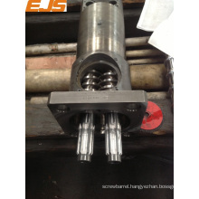 bimetallic twin screw and barrel conical twin screw extruder