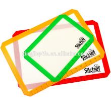 38.5cm * 58.5cm Estera de silicona para hornear Estera antiadherente de silicona resistente al calor